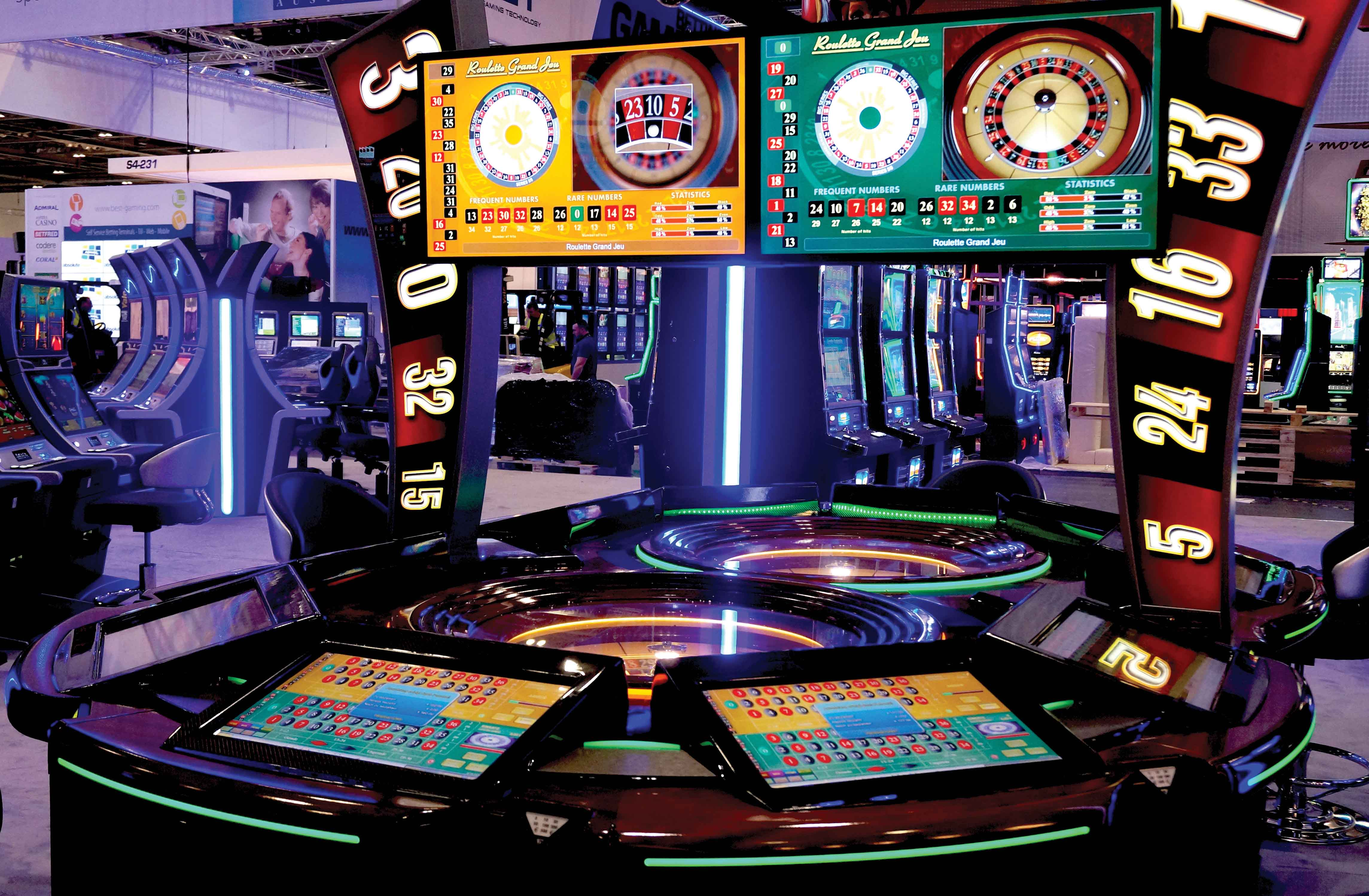 Electronic roulette machine strategy