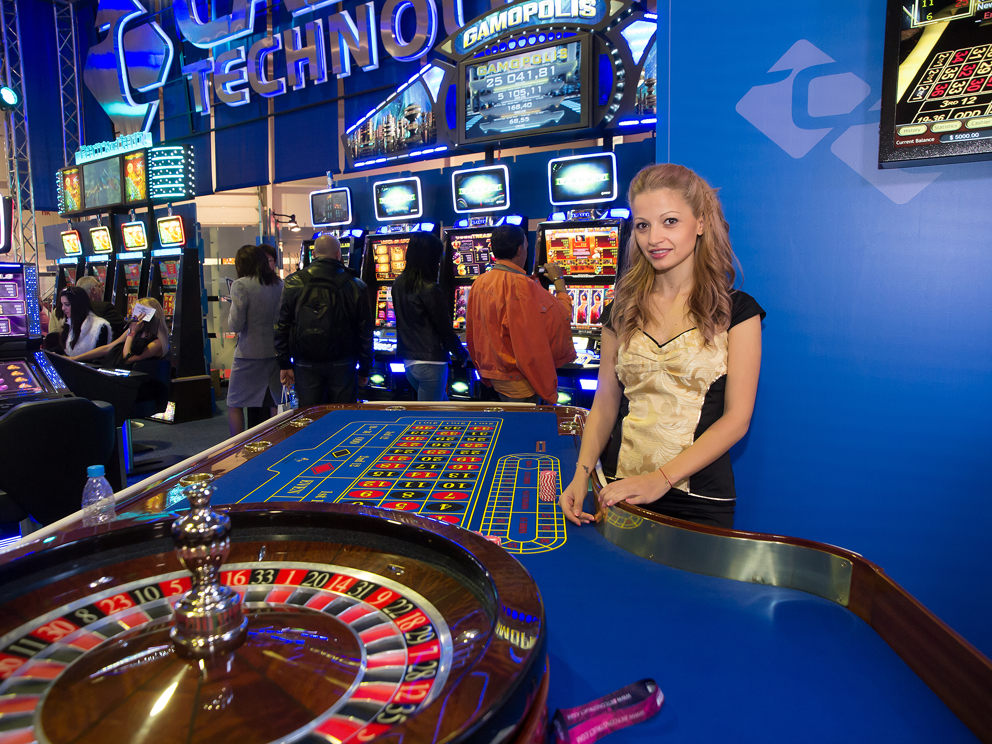Casino technologie