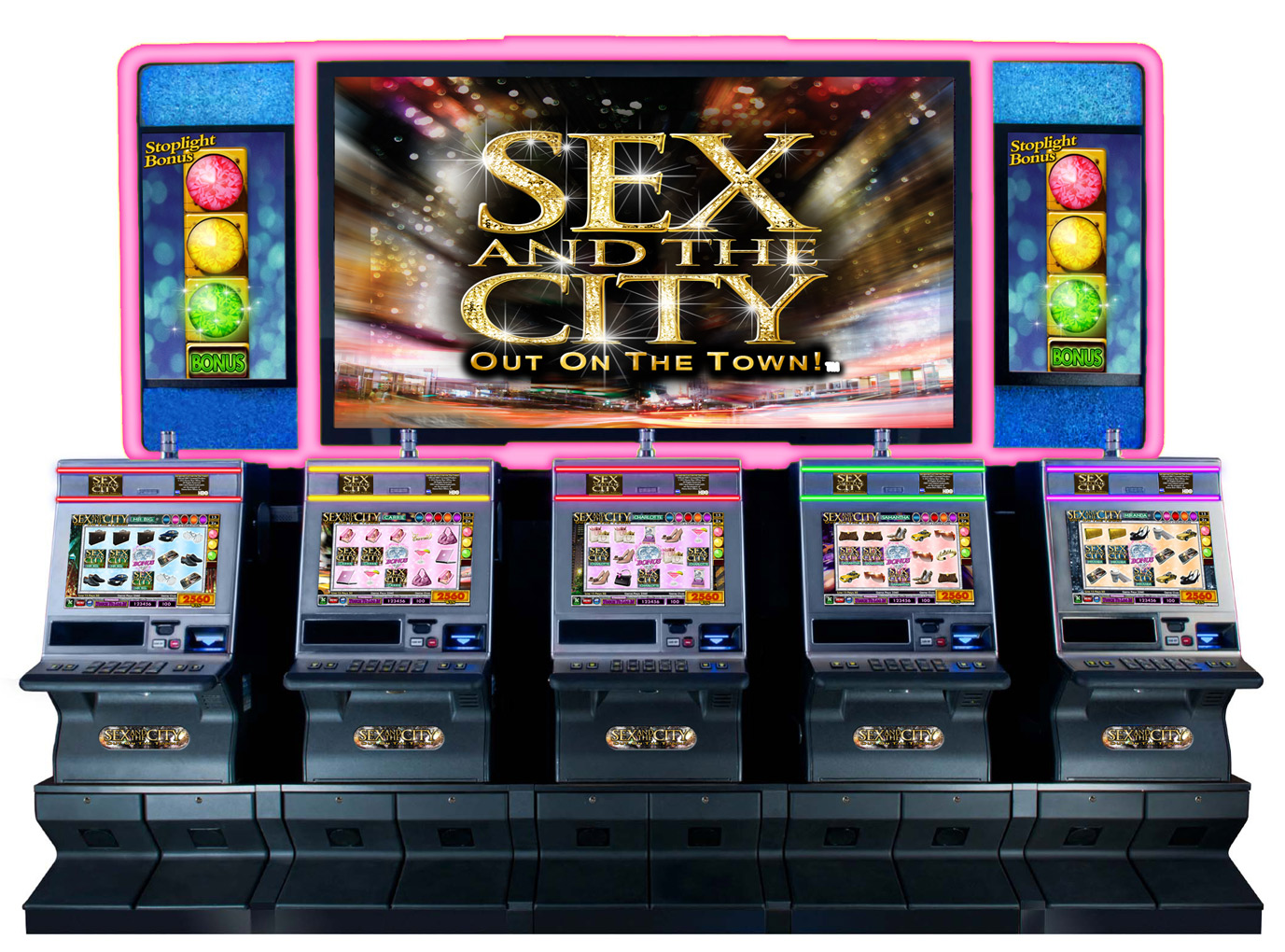 Sex and the city slot machines nyny hotel and casino las vegas