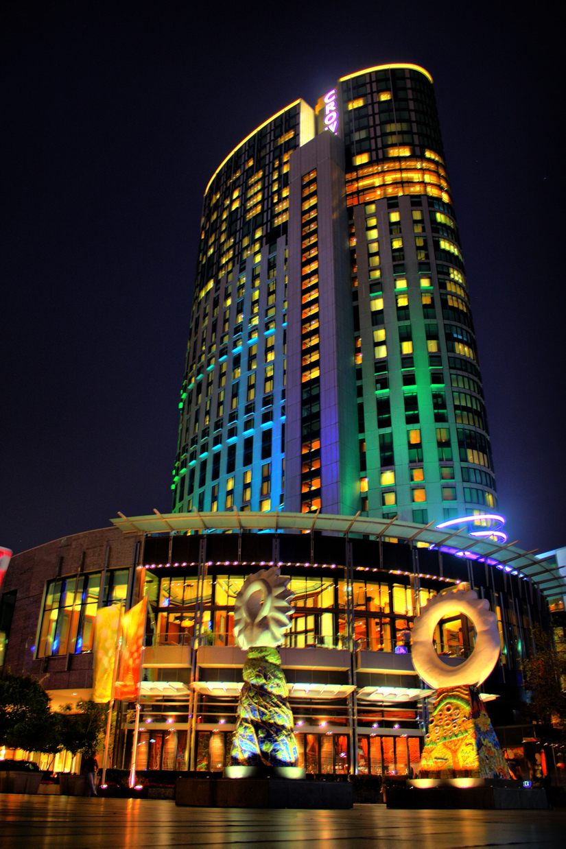 Crown casino accommodation promenade